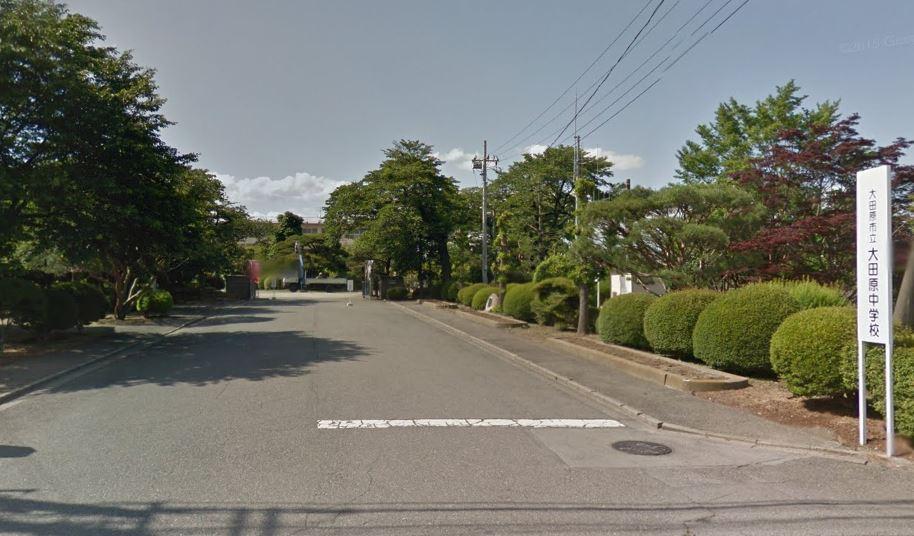 中学校大田原中学校まで591m(周辺)